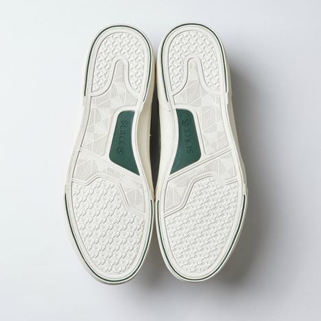【SLACK FOOTWEAR】DUALOS (BEIGE/GREEN/WHITE)