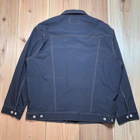 【LiSS】STRETCH NYLON BIG SIZE BLOUSON