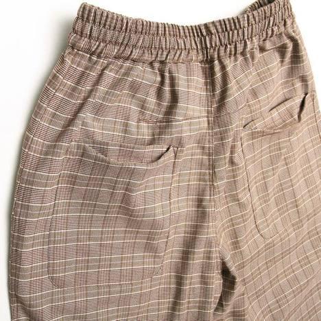 【quolt】SURE-CHECK PANTS