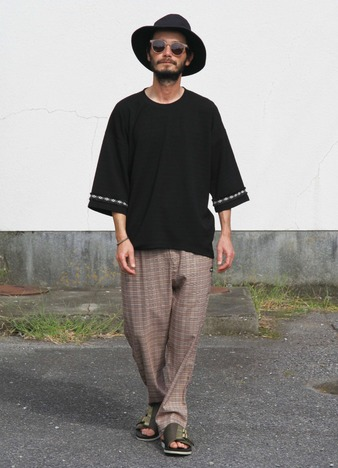 【quolt】SURE-CHECK PANTS