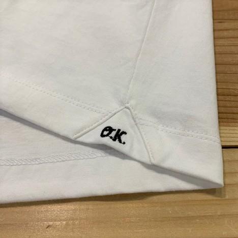 【O.K.】ALL STAR S/S TEE (手刺繍)