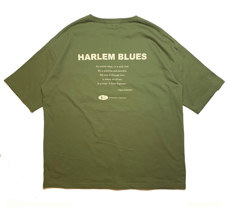 【HARLEM BLUES】HB WIDE TEE