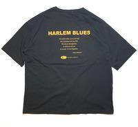 【HARLEM BLUES】HB WIDE TEE