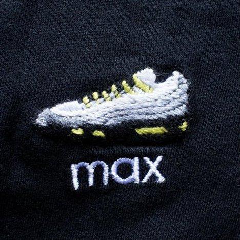 【O.K.】MAX S/S TEE(手刺繍)