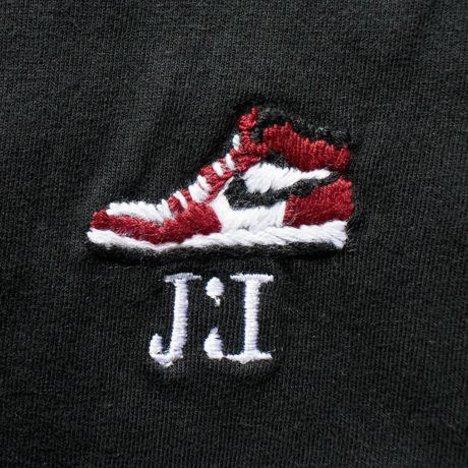 【O.K.】J1 S/S TEE(手刺繍)