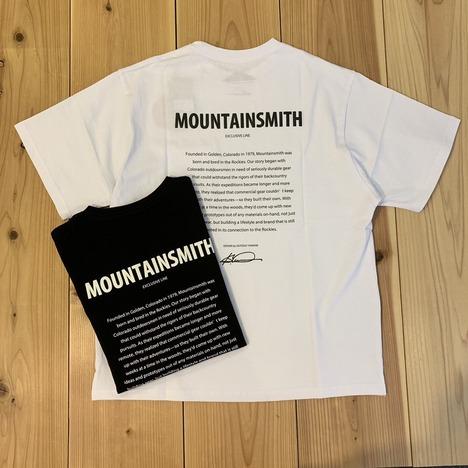 【MOUNTAIN SMITH】S/S TEE HISTORY