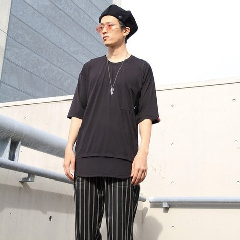 【SALE30%OFF★quolt】MESH-LAYER CUTSEW