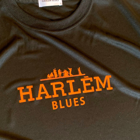 【HARLEM BLUES】HERM LOGO DRY TEE