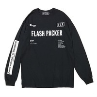 【FLASH PACKER】XLT-LOG LOGO L/S TEE