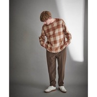 【Kelen】SIDE ZIP PIN TUCK PANTS SCOUT