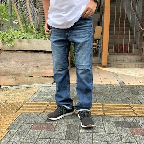 【narifuri】× Lee ストレッチ101Z サイクルデニムパンツ