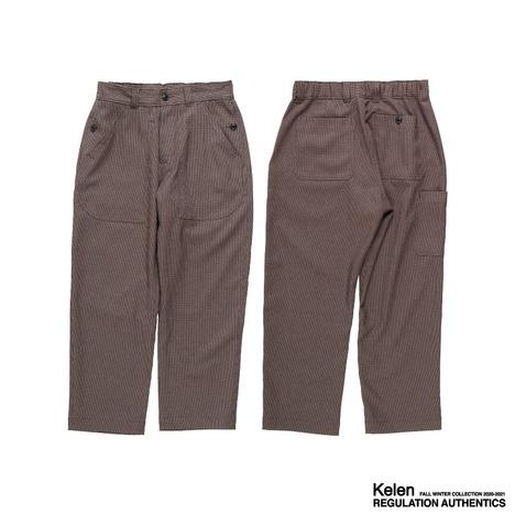 "【Kelen】7-POCKET FATIGUE PANTS ""DIAMAN"""