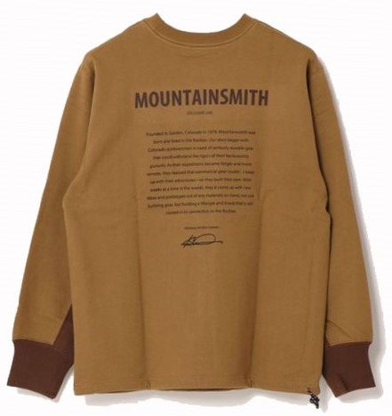 【MOUNTAIN SMITH】GRANBY RECYCLED CREW HISTORY