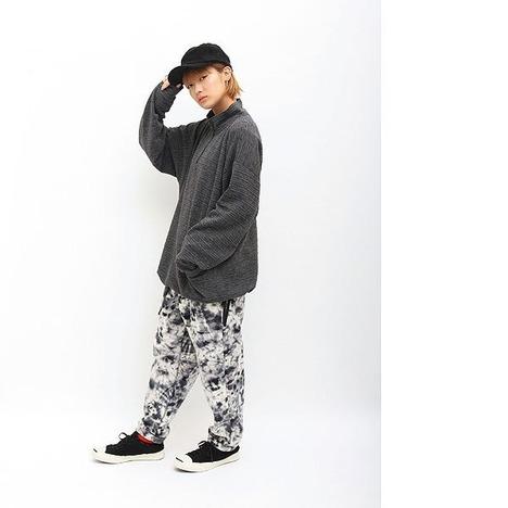 【quolt】DYED-FLEECE PANTS