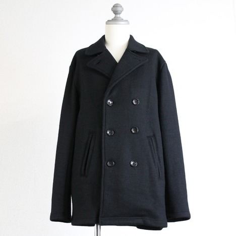 【LiSS】ウールニットPコート