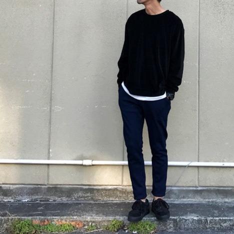 【LiSS】FLEECE TAPERED PANTS