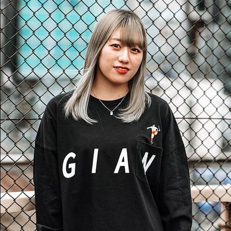 【HAOMING】ジャイアント馬場×HAOMING L/S Pocket Tshirt