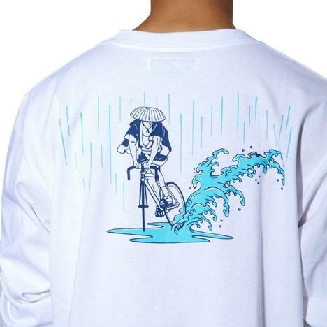 【CHARI&CO】x NAGA SKID IN THE RAIN L/S TEE