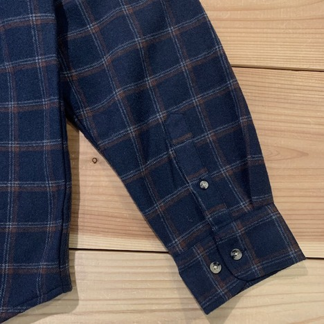 【LiSS】CHECK BRUSHED SHIRTS