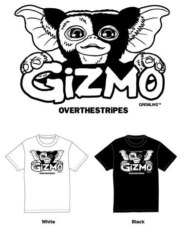 【OVER THE STRiPES】プラッシュドールギズモ&Tシャツ BOX SET