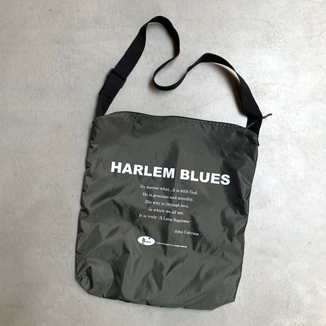 【HARLEM BLUES】RIPSTOP SHOULDER BAG HB