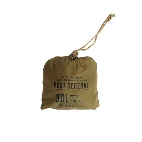【POST GENERAL】パッカブル ショッピングバスケットバッグ