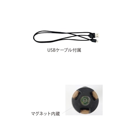【POST GENERAL】トリパネルソーラーチャージLEDライト