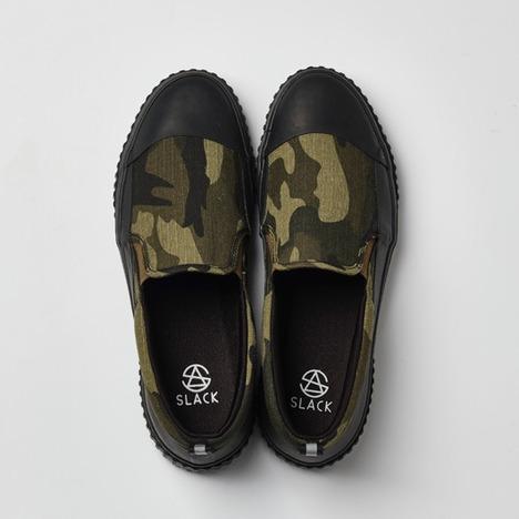 【SLACK FOOTWEAR】LEPOT (CAMO/BLACK)