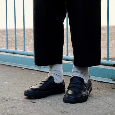 【SLACK FOOTWEAR】LOWDY (BLACK/BLACK)