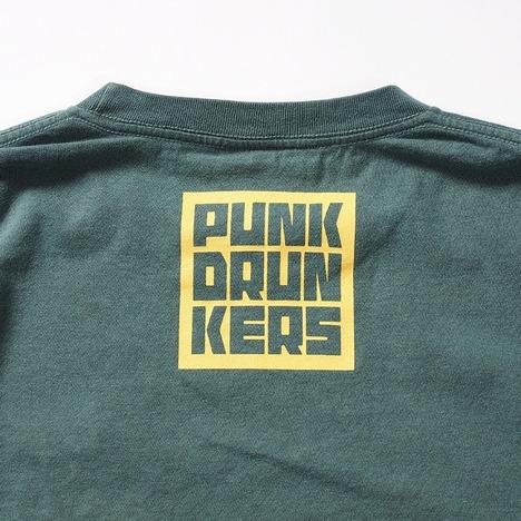 【PUNK DRUNKERS】グレイトフルマッポ刺繍TEE