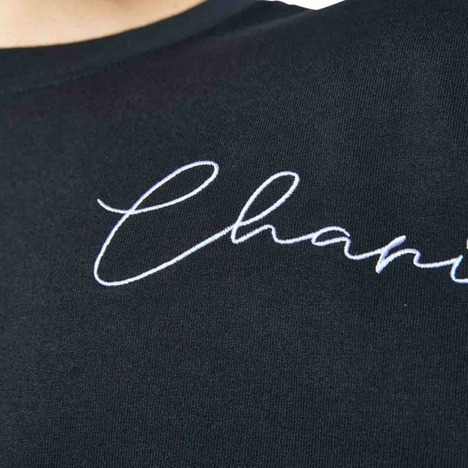 【CHARI&CO】SCRIPT LOGO TE