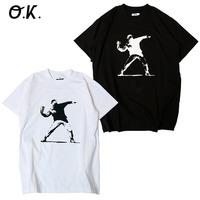 【O.K.】max'95 feat. Banksy S/S TEE
