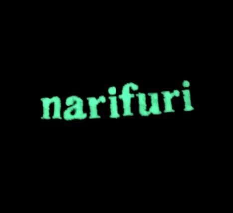 【narifuri】6パネルキャップ