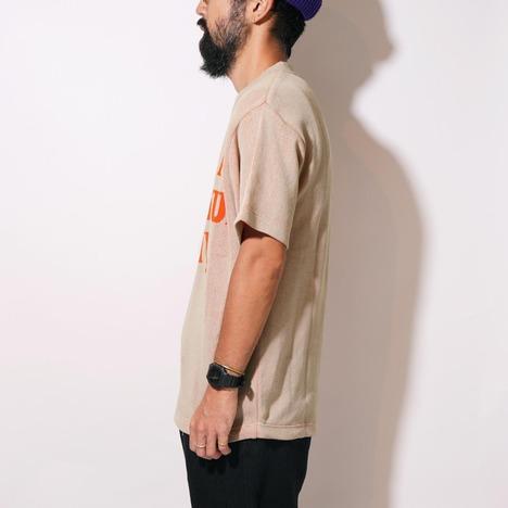 【GO WEST】GRATEFUL DAY JACQUARD T-shirt -LOGO