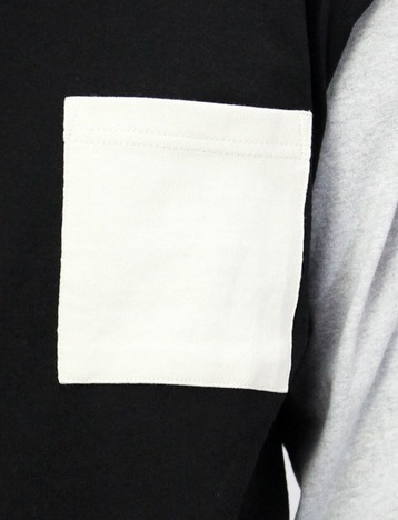 【Goodwear】USAコットン袖配色BIGロンT