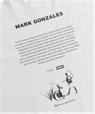 【Mark Gonzales】NONSTOP POETY BIGロンT