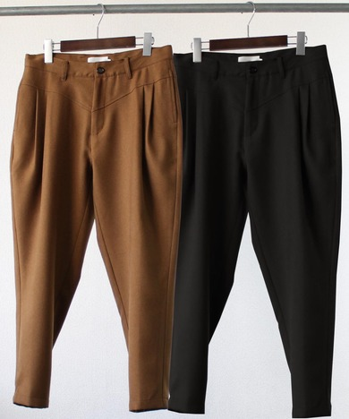 【LiSS】STRETCH TAPERED CROPPED PANTS