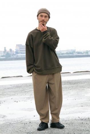 【quolt】EXO-WIDE PANTS
