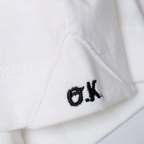 """【O.K.】""""ランクル70"""" 手刺繍 L/S TEE"""