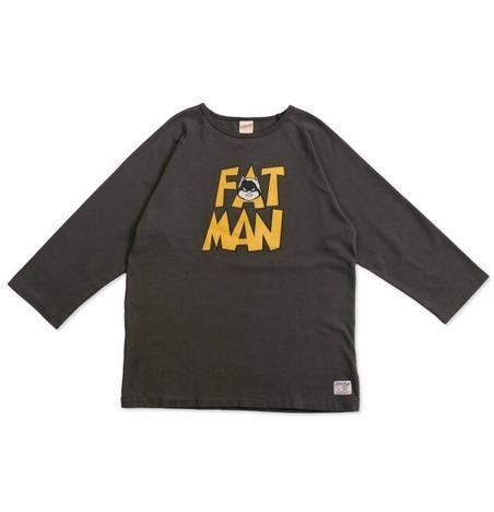 "【FREE RAGE】""FAT MAN CM"" ラグラン七部袖Tee"