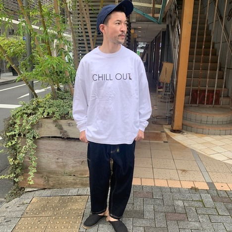 【HARLEM BLUES】CHILLOUT L/S TEE