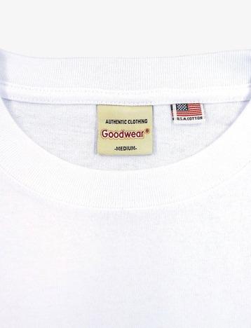 【Goodwear】USAコットンBIG切替7分袖TEE