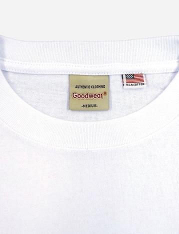【Goodwear】USAコットン袖リブポケットロンTEE