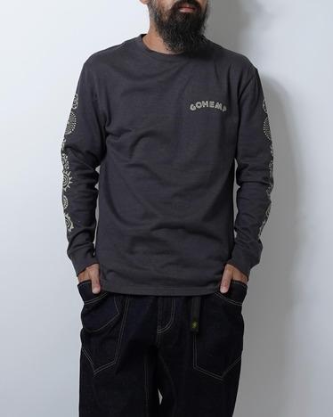 【GO HEMP】ADINKRA L/S TEE