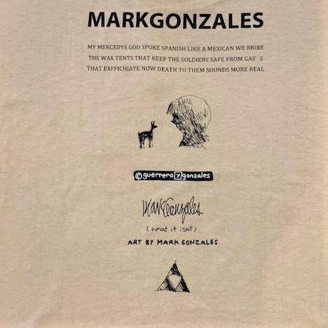 【Mark Gonzales】What it isnt L/S BIG TEE