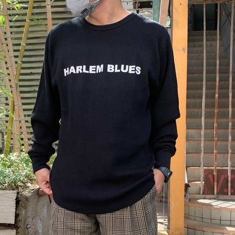 【HARLEM BLUES】HARLEM BLUES L/S THERMAL