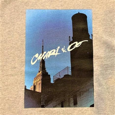 【CHARI&COxSHIDO AKAMA】NYC LANDMARKS HOODIE SWEATS