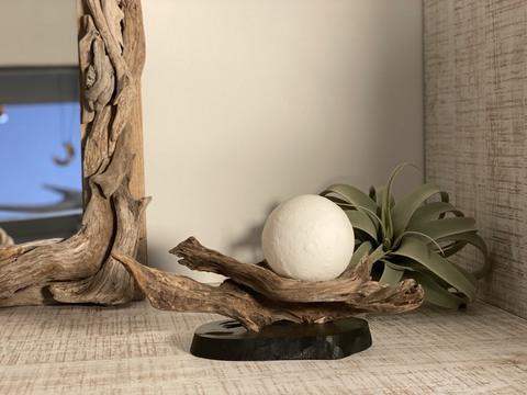 流木ランプ(月のランプ)