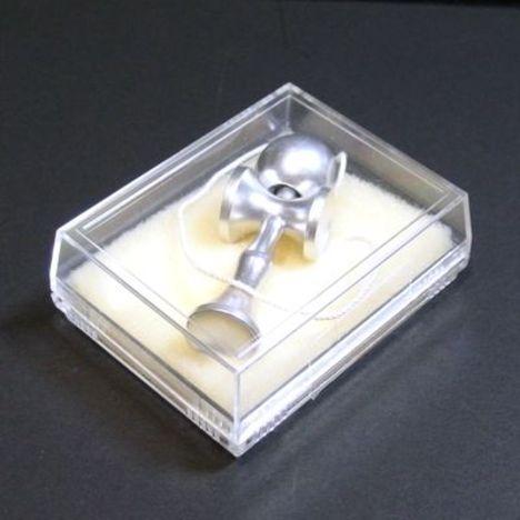 アルミ製ミニけん玉