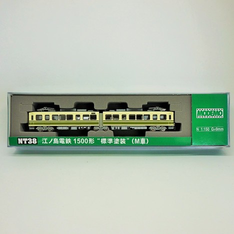 江ノ電 1500形 標準塗装 M+T)2両セット